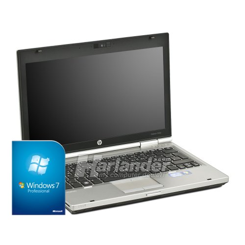 HP EliteBook 2560p 12,5 Zoll Subnotebook (Core i7 2.8GHz, 4GB RAM, 160GB SSD, DVD-RW, WLAN, Win 7) silber