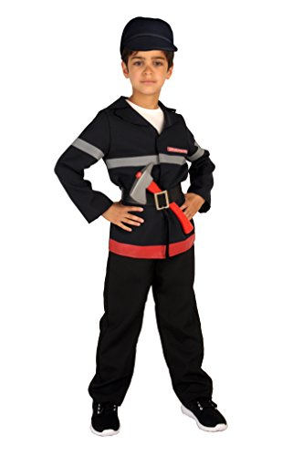 Upyaa-430213-Pompier-en-housse-luxe-Taille-138-cm-810-ans