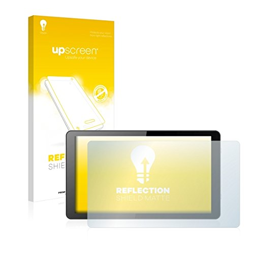 upscreen Reflection Shield Matte Bildschirmschutz Schutzfolie für i.onik Global Tab L1001 (matt - entspiegelt, hoher Kratzschutz)