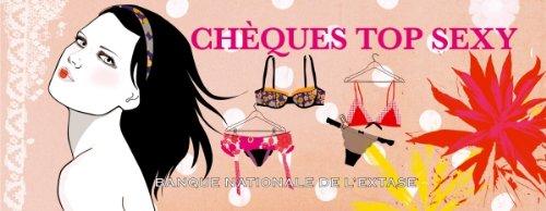 Chèques top sexy par Olivier Cechman