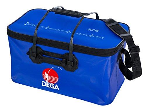 Dega Tasche blau mit Reißv. 40 cm