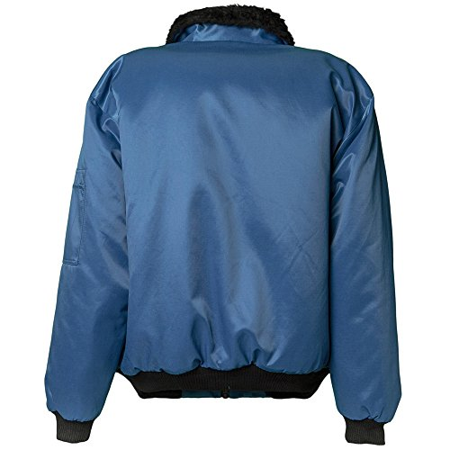 Planam 330044 Gletscher Blouson pilote Bleu