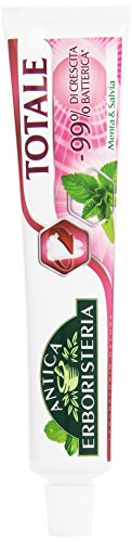 Antica Erboristeria - Dentifricio, In grado di Ridurre fino al 99% la crescita Batterica, Menta è Slavia -  75 ml
