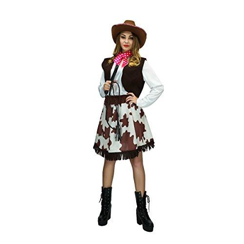 Sea Hare Costume adulto di fantasia cowgirl occidentale costume