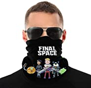 Final Space Balaclava Variety Head Scarf Unisex Soft Windproof Headband for Sports Hiking