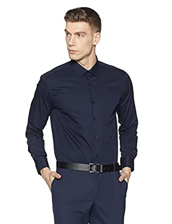 Diverse Men's Formal Shirt (8903905011985_DVF01F2L01-126_39_Navy)