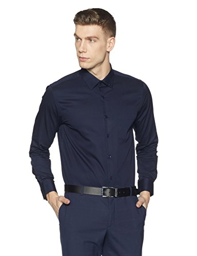Diverse Men's Formal Shirt (8903905012005!_DVF01F2L01-126!_42!_Navy)