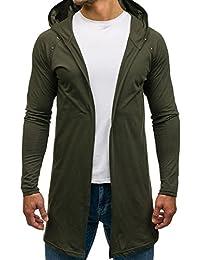 BOLF – Sweatshirt – Capuche – Manche longue – Hoodie – Casual – Motif – Homme [1A1]