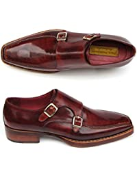 Paul Parkman - Zapatos de cordones para hombre Rojo granate f5FE1mQ