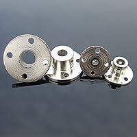 Winwill® Acoplamiento de Brida rígida de 6 mm Acoplador del Eje de la guía del Motor Conector del Motor
