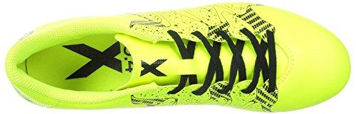 adidas X 15.4 FG, Chaussures de football homme Gelb (Solar Yellow/Solar Yellow/Core Black)