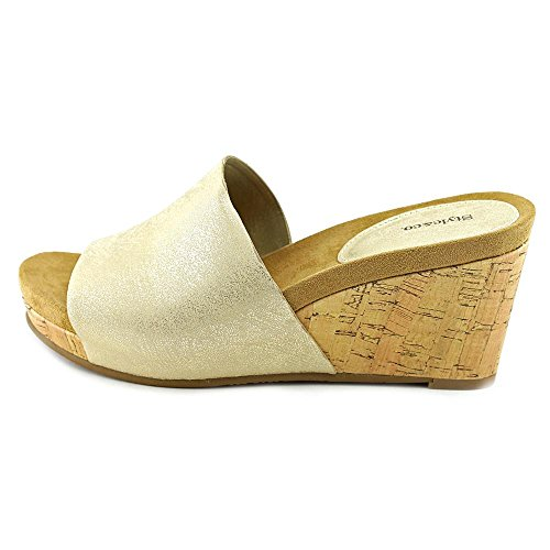Style & Co Jackeyy Femmes Synthétique Sandales Compensés Light Gold
