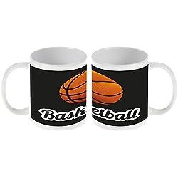 Taza Retro Baloncesto Ceramica impreso