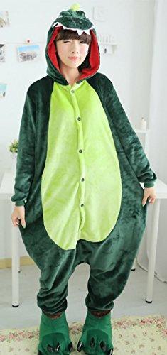 Y-BOA 1Pc Pyjama Combinaison Coton Femme Taille L Dinosaur