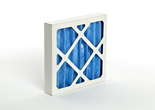 GVS Filter Technologie g4p.12.12.2. sua001.002G4Plissee-Filter, blau/weiß (2Stück) (Zwei-stufen-klimaanlage)