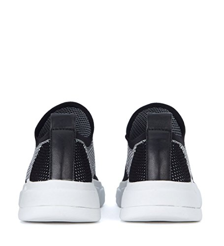 Sneaker Caleb Kendal and Kylie Bianco Nero