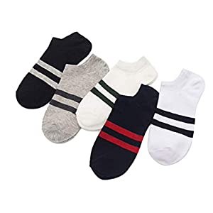 nimhes Männer Jungen Casual Rutschfeste Breathable Bequeme Unsichtbare Bootssocken Socken