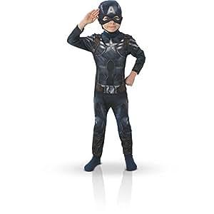 Rubie's Marvel - Costume per bambino di Capitan America - Taglia 3-4 anni