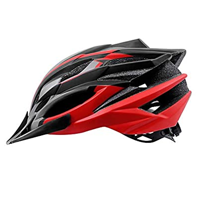 X-TIGER Adult Men&Women Light Weight Cycle Helmet With Detachable Visor BMX Mountain Road Bicycle MTB Helmets Adjustable Comfortable Safety Helmet for Outdoor Sport Riding Bike Fully CE Certified by X-TIGER