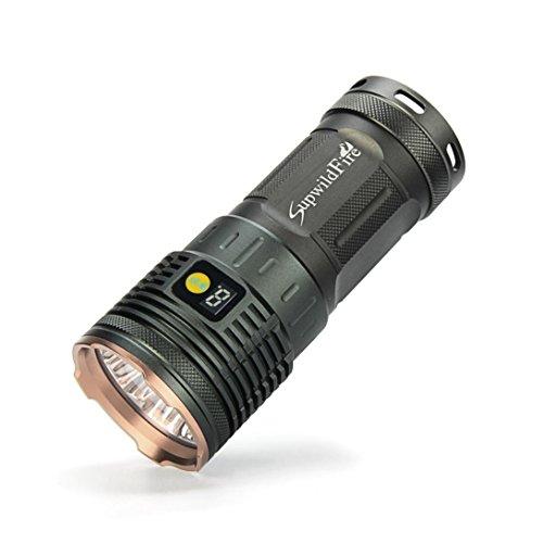 Flashlight, Tattica della torcia elettrica, SOMESUN Torcia elettrica torcia tattica di classe G700 X800 LED (Oro)