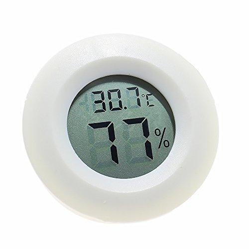Termómetro digital higrómetro, precisión electrónica inalámbrico temperatura medidor de humedad...