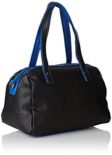 Le Temps des Cerises Elegance 4, Borsa bowling donna Noir (Noir Bleu 9R10)