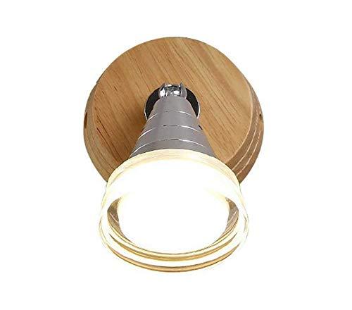 Estilo industrial araña vintage Lámpara de pared LED, lámpara de noche Luz...