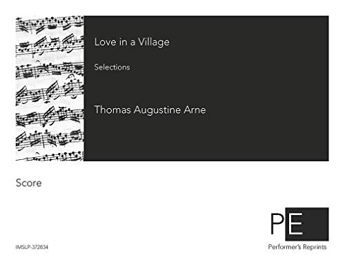 Love in a Village - Vocal Score Selections