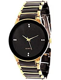 Exotica Black And Gold IIK Watch For Man