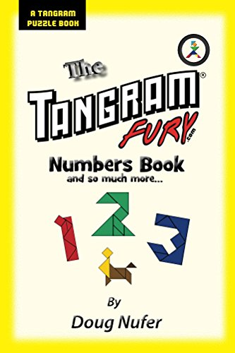 Tangram Fury Numbers Book (Tangram Fury Puzzle Book 4) (English Edition)