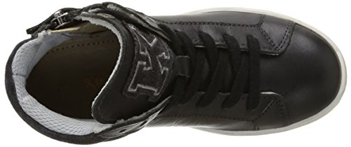 Kickers Hatila, Sneakers Hautes fille Noir (Gris Foncé)