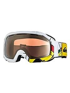 Quiksilver Men's Facet Orbi Mirror Goggle - White, One Size