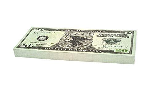 100 x $20 DOLLAR Cashbricks® Spielgeld Scheine