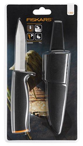 Fiskars Universalmesser, Schwarz, Länge: 21cm - 4