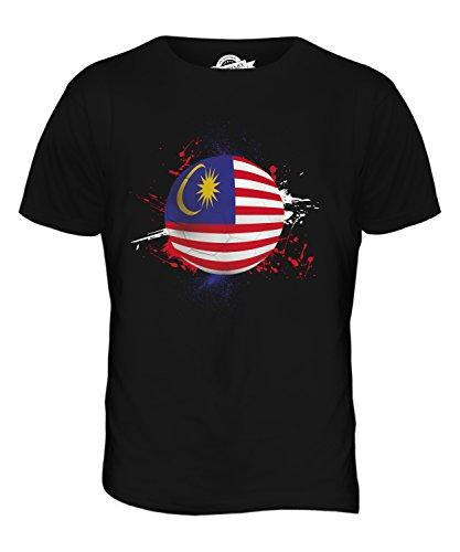 CandyMix Malaysia Fußball Herren T Shirt Schwarz