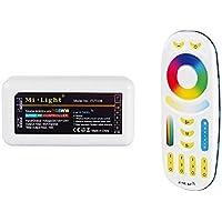 LIGHTEU, RGB + CCT (RGBWW) Controller Wireless WiFi Control Module LED Controller Wlan 2.4G RGB and RGB + CCT (RGBWW) Remote Control