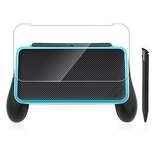 HEYSTOP Nintendo New 2DS XL Silikonhülle (Gelb), Nintendo Antirutsch Silikon-Schutzhülle für Nintendo New 2DS XL (2017) Schutzhülle leichtgewichtig designt für Komfortables Spielgefühl