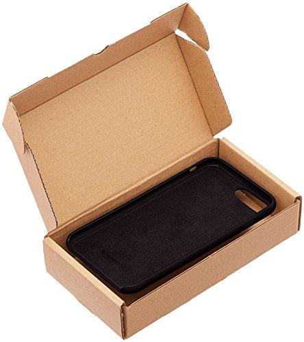 AmazonBasics schmale PU Hülle/Case für iPhone 7 Plus Rot Schwarz