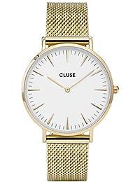 Cluse Reloj Analógico Automático para Mujer con Correa de Acero Inoxidable – CL18109