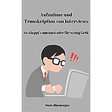 Aufnahme und Transkription von Interviews: So klappt's umsonst oder für wenig Geld