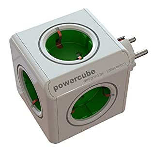 Allocacoc 1100GN/DEORPC Power Cube Original, 16 W, Verde (B009FZXK6W) | Amazon Products