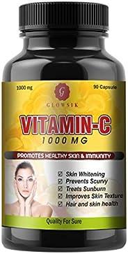 GLOWSIK VITAMIN C CAPSULES FOR IMMUNITY AND SKIN 1000 mg- 90 CAPSULES