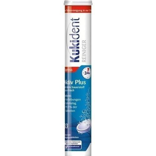 KUKIDENT AKTIVPLUS TABS 33St Tabletten PZN:2586352