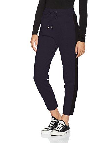 Vero Moda Vmdonna Panel Ancle Pants, Pantalon Femme Bleu (Navy Blazer)