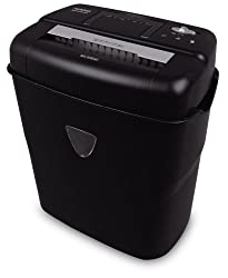 Aurora As1018cd 10 Sheet Cross Cut Paper Shredder