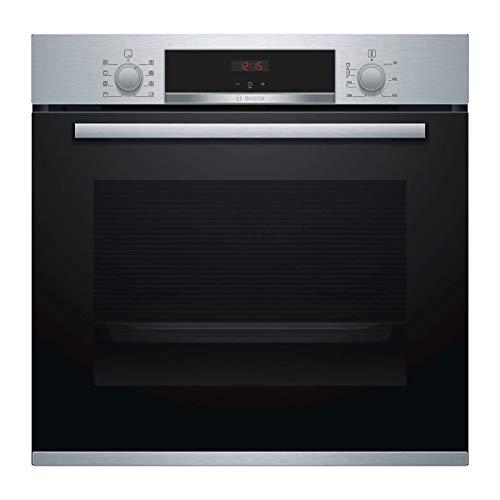 Bosch Serie 4 HBA553BR0 four Four électrique 71 L Noir, Acier inoxydable A - Fours (Moyenne, Four électrique, 71 L, 71 L, 3400 W, 50-275 °C)