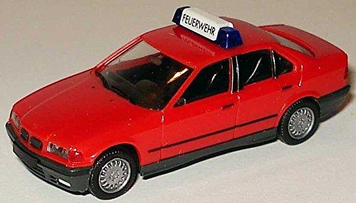 Preisvergleich Produktbild Herpa 042154 BMW 3er (E36/4) 1990 - 1998 325i (E36) rot Feuerwehr Fertigmodell Modellauto 1/87
