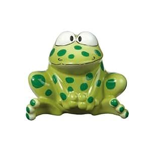 Goebel 66-894 Figurine décorative en porcelaine Fred la grenouille