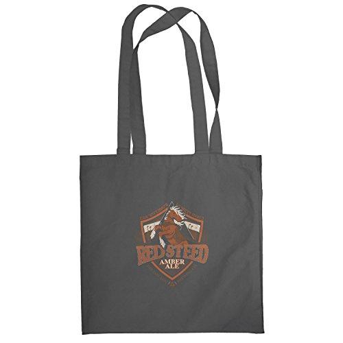 Texlab–Red Steer Amber Ale The Lon Lon Brewing Company–sacchetto di stoffa Grau