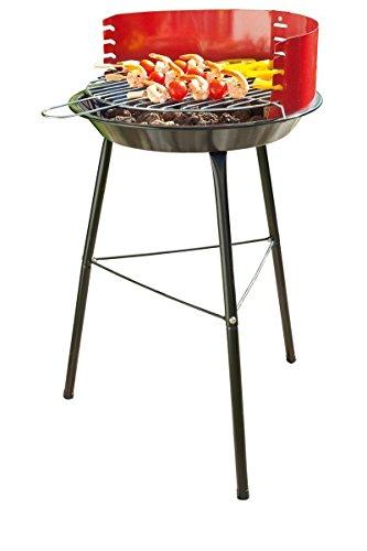 BBQ Barbecue à charbon rond sur 3 pieds - pour 4/5 couverts